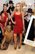 CARMEN ELECTRA at Light Nightclub at Mandalay Bay Resort and Casino in Las Vegas