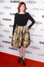 CARRIE PRESTON at Glamour Women of the Year 2014 Awards in New York