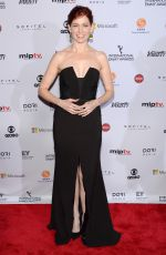 CARRIE PRESTON at International Academy of Television Arts & Sciences Emmy Awards in New York