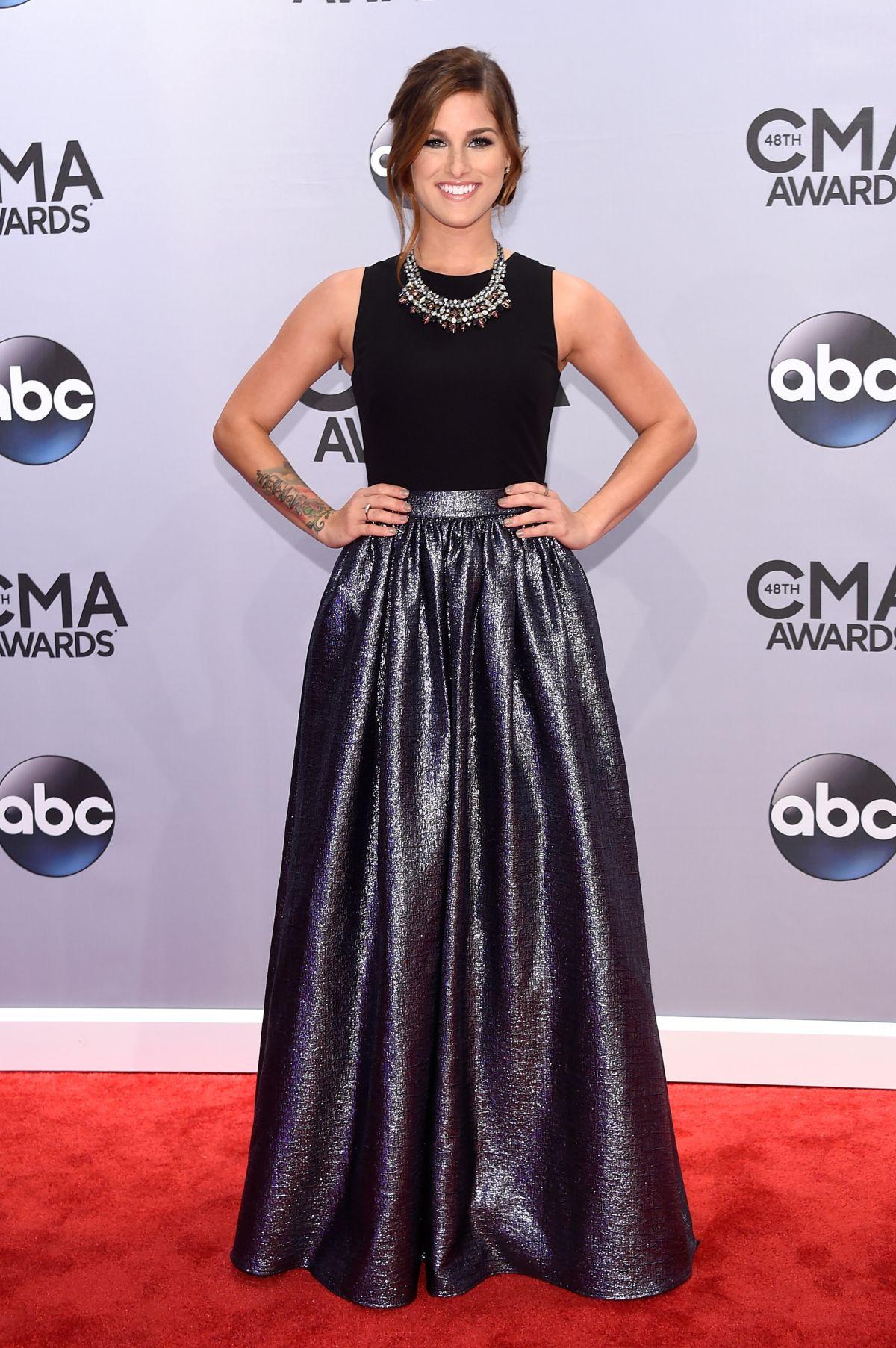 CASSADEE POPE at 2014 CMA Awards in Nashville