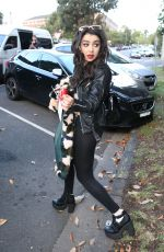CHARLI XCX Leaves Dancing with the Stars Show in Melbourne