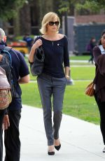 CHARLIZE THERON out and About in Los Angeles 2011
