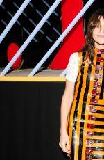 CHARLOTTE GAINSBOURG at Louis Vuitton Monogram Celebration in New York