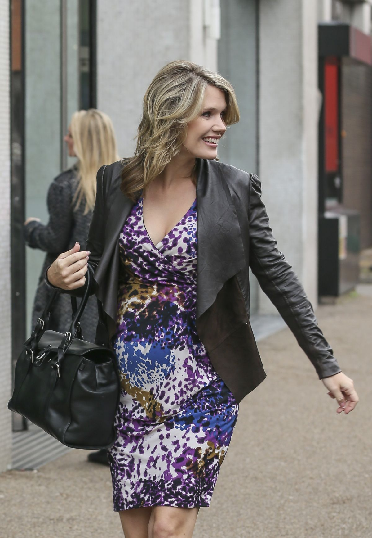 CHARLOTTE HAWKINS Out and About in London