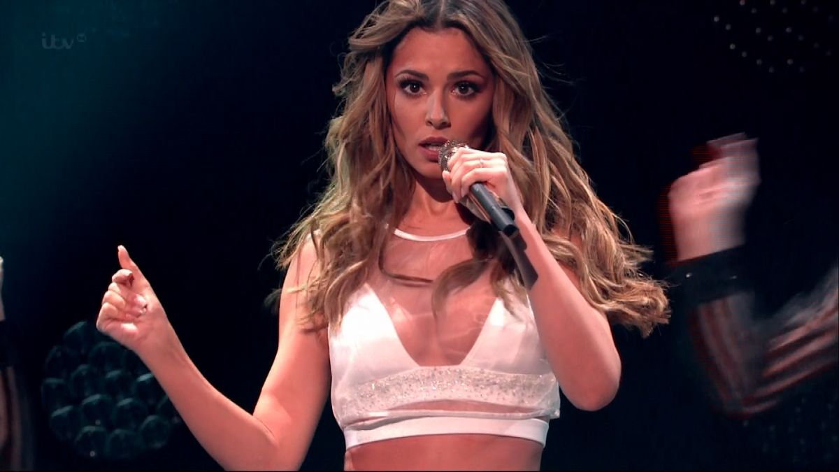 CHERYL COLE Performs at X Factor