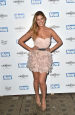 CHESKA HULL at Now Christmas Party in London