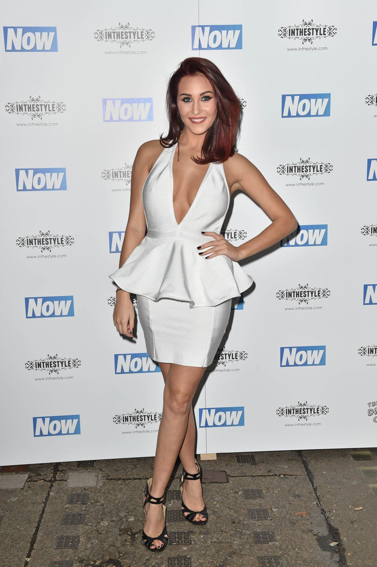 CHLOE GOODMAN at Now Christmas Party in London