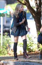 CHLOE MORETZ on the Set of the 5th Wave in Atlanta 1811