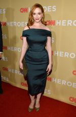CHRISTINA HENDRICKS at 2014 CNN Heroes An All Star Tribute in New York