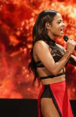 CHRISTINA MILIAN Performs at 2014 American Music Awards in Los Angeles