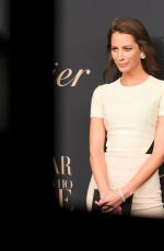 CHRISTY TURLINGTON at Panthere de Cartier Collection Dinner in New York