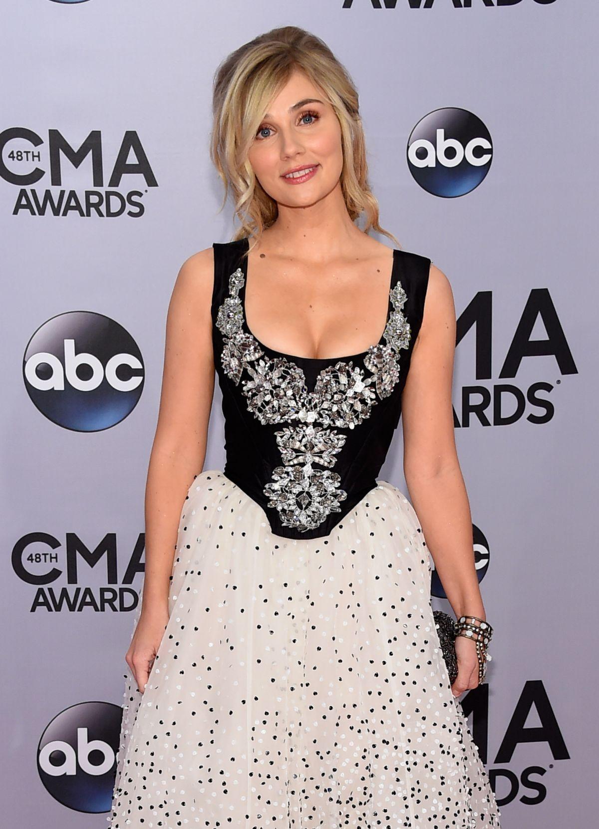 CLARE BOWEN at 2014 CMA Awards in Nashville