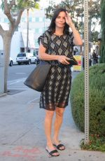 COURTNEY COX Out and About in Beverly Hills 0711