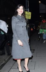 DAISY LOWE at Dolce & Gabbana Christmas Tree Party in London