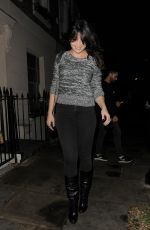 DAISY LOWE Leaves Her Home in London