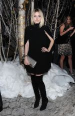 DAKOTA FANNING at Baz Dazzled Holiday Window Unveiling in New York
