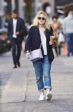 DAKOTA FANNING Out and About in Soho 1211