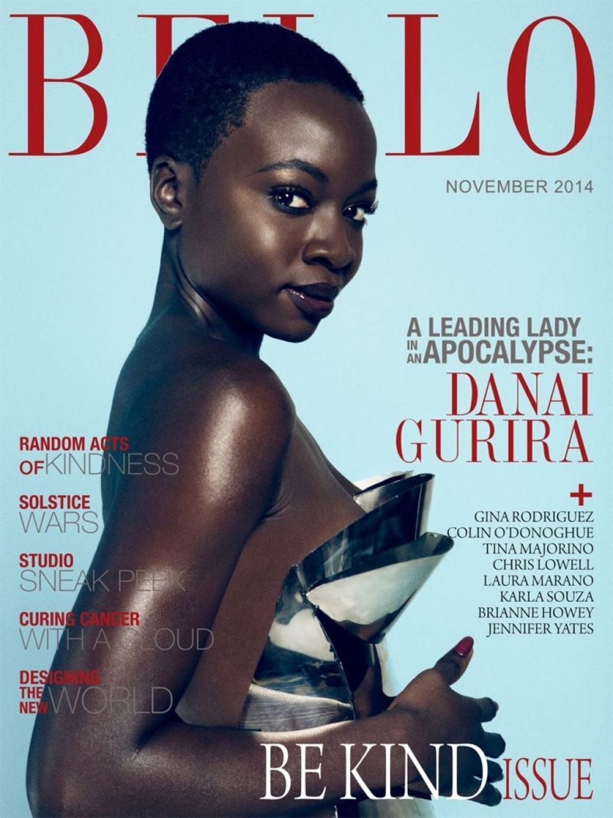 DANAI GURIRA in Bello Magazine, November 2014 Issue