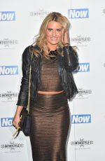 DANIELLE ARMSTRONG at Now Christmas Party in London