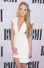 DANIELLE BRADBERY at 2014 BMI Country Awards in Nashville