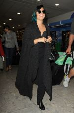 DEMI LOVATO Arrives at Heathrow Airport in london 1111
