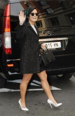 DEMI LOVATO Out and About in Paris