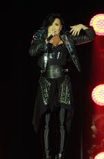 DEMI LOVATO Performs at 02 Arena in London