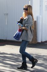 DENISE RICHARDS Out Shopping at Fred Segal in West Hollywood 0111