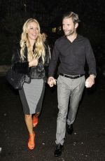 DENISE VAN OUTEN with Friends Night Out in Chigwell