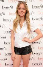DIANA VICKERS at Benefit Cosmetics Pop-up Pub Party in London