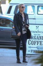 DIANNA AGRON Out and About in Hollywood