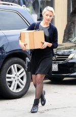 DIANNA AGRON Out Shopping in West Hollywood