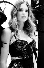 DOUTZEN KROES Fitting for Victoria's Secret 2014 Fashion Show