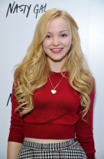 DOVE CAMERON at Nasty Gal Melrose Store Opening in Los Angeles