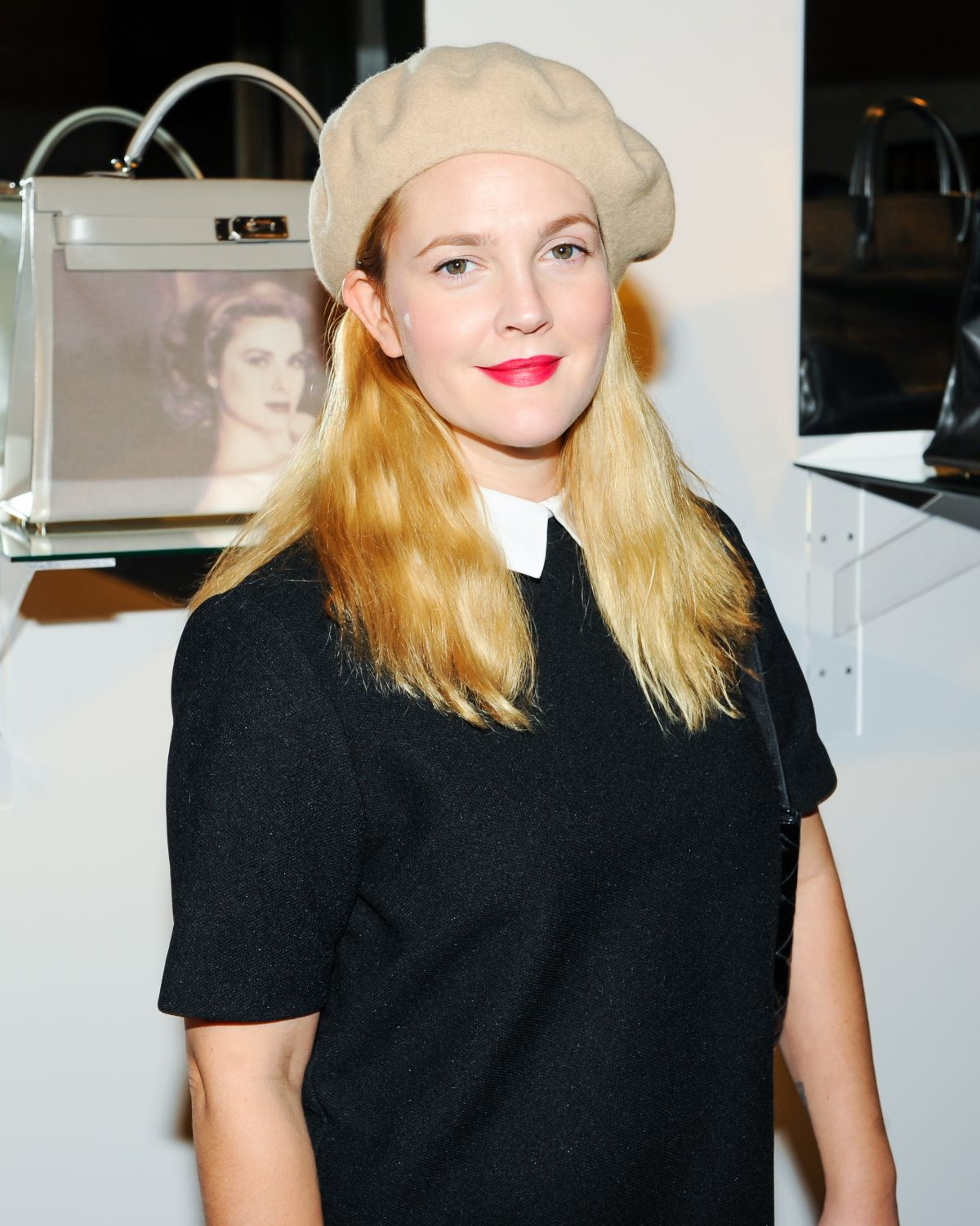 DREW BARRYMORE at Project Perpetual Inaugural Dinner and Auction in New York