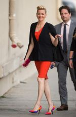 ELIZABETH BANKS Arrives at Jimmy Kimmel Live in Los Angeles