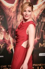ELIZABETH BANKS at The Hunger Games: Mockingjay Part 1 Premiere in Berlin