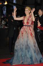 ELIZABETH BANKS at The Hunger Games: Mockingjay Part 1 Premiere in London