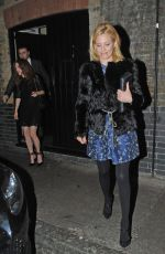 ELIZABETH BANKS Leaves Chiltern Fire House