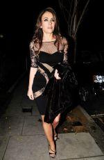ELIZABETH HURLEY Night Out in London