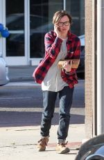 ELLEN PAGE Out and About in Los Angeles 2211