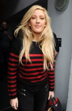 ELLIE GOULDING Arrives for Band Aid 30 Recording in London