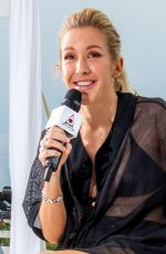 ELLIE GOULDING at Bacardi Triangle Event in Puerto Rico