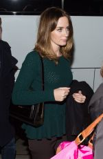 EMILY BLUNT Arrives at Into the Woods Screening