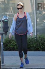 EMILY BLUNT in Leggings Leaves a Gym in Beverly Hills 0511