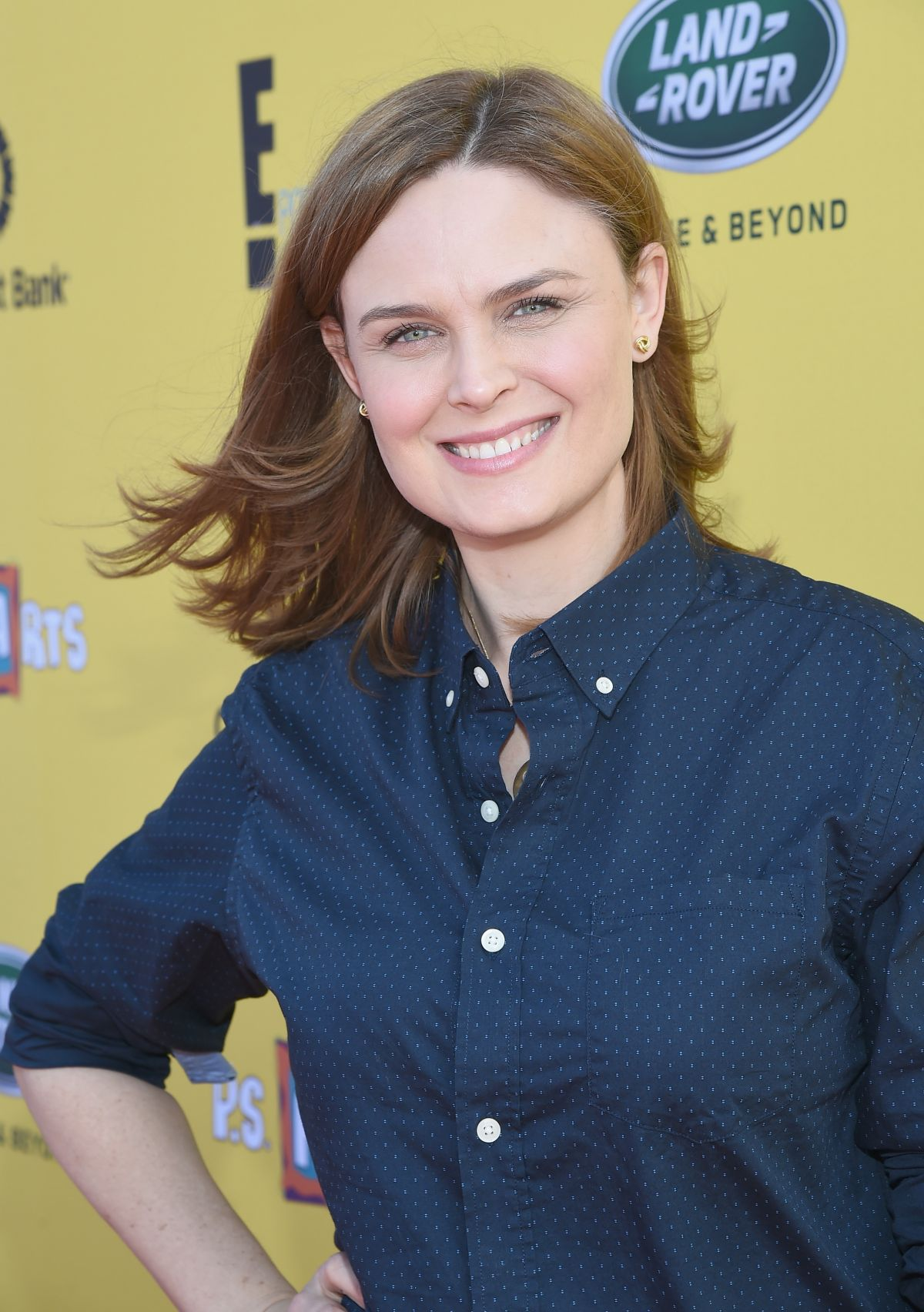 EMILY DESCHANEL at P.S. ARTS Express Yourself 2014 in Santa Monica