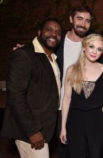 EMILY KINNEY at AMC Holiday Party in Hollywood
