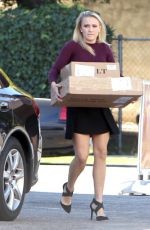EMILY OSMENT Out Shopping in Studio City