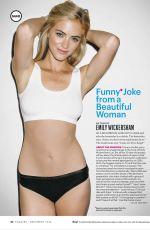 EMILY WICKERSHAM in Esquire Magazine, December 2014 Issue