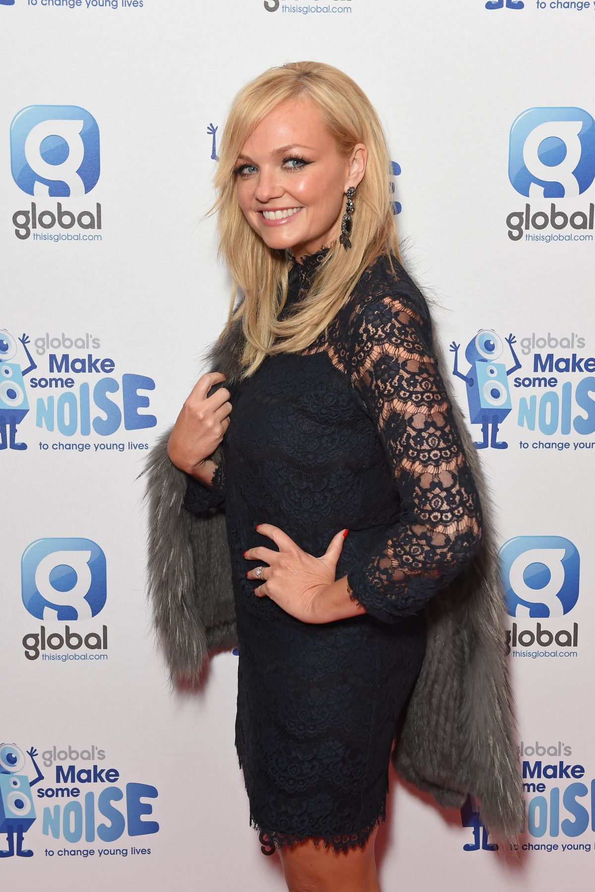 EMMA BUNTON at Global Make Some Noise Event in London